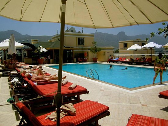 The Arkin Colony Hotel: Pool on the roof top