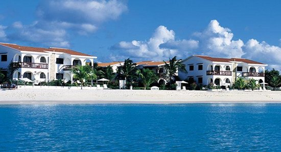 Carimar Beach Club: View from the water