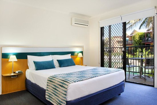 Noosa Lakes Resort: Australis Hotel Noosa Lakes Queen Bed Studio