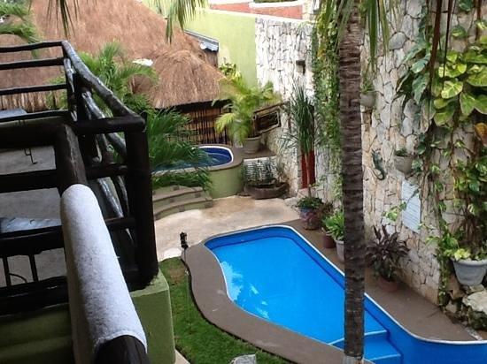 Hotel Aventura Mexicana: 部屋からの