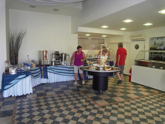 Samos Bay Gagou Beach Hotel: breakfast