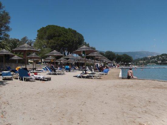 Louis Corcyra Beach Hotel: Beach