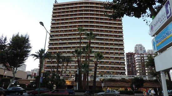 Hotel Don Pancho: Fachada del hotel