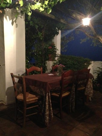 La Fructuosa: Terrace after the event
