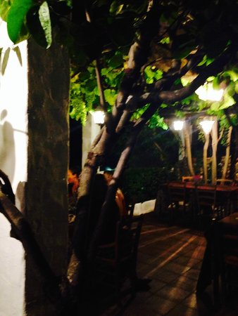 La Fructuosa: Terrace at the end of the night