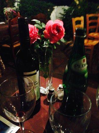 La Fructuosa: Rioja y rosas