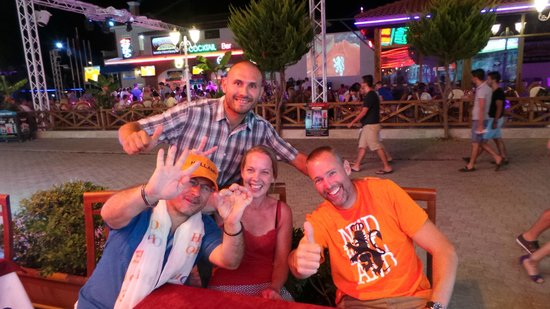 Hamish McTurk-Tours : Late night fun with Volkan and Phil watching WC Football 2014