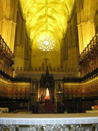 Catedral de Sevilla: La Cattedrale al suo interno