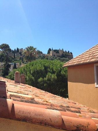Hotel du Grand Jardin de Cassis: Vue depuis la terrasse chambre 18