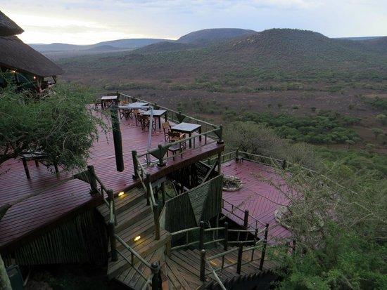 Soroi Serengeti Lodge: La terrasse