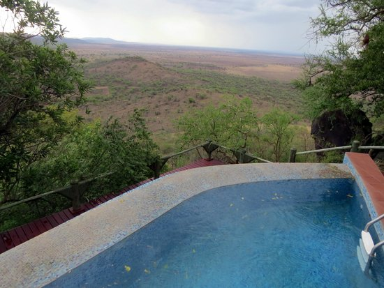 Soroi Serengeti Lodge: La piscine 1