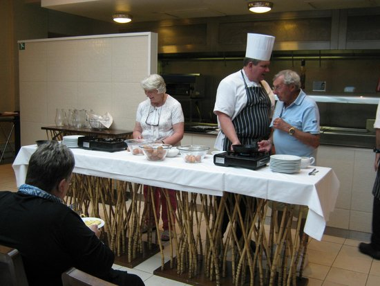 Warner Holme Lacy House Hotel: ready steady cook