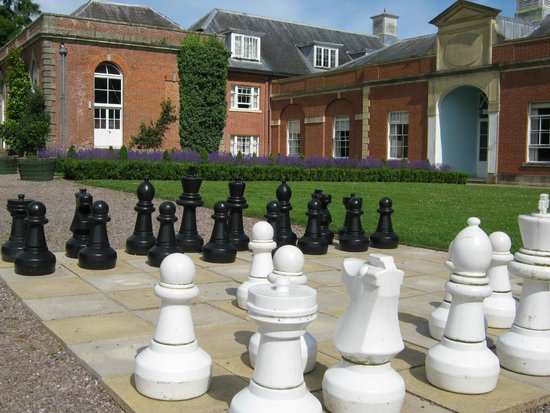 Warner Holme Lacy House Hotel: checkmate