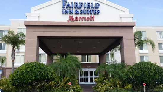 Fairfield Inn & Suites Melbourne Palm Bay/Viera : Entry