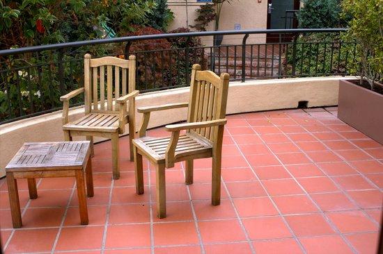 Casa Madrona Hotel and Spa : Privatre Veranda