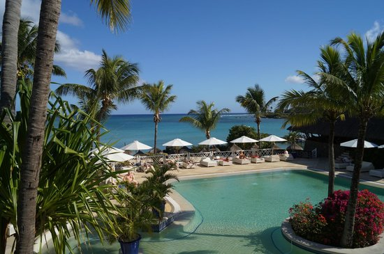Maritim Resort & Spa Mauritius: view from breakfast in Belle Vue