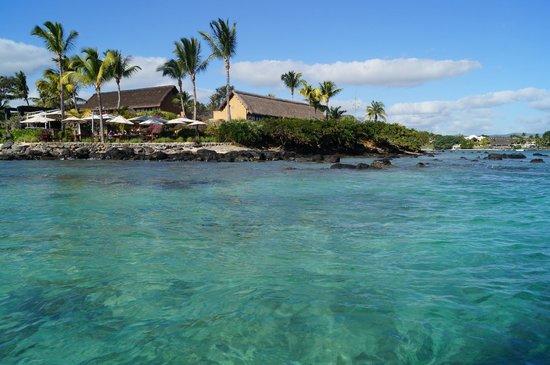 Maritim Resort & Spa Mauritius: view from jetty