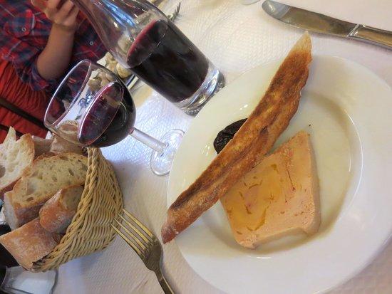 Le Bouillon Chartier : 前菜~フォアグラのペースト