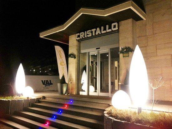 Hotel Cristallo Club: entrata