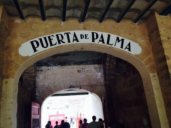 Baleares Coliseu Bullring: una porta di ingresso