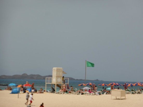 ClubHotel Riu Oliva Beach Resort: Hurray - a green flag!