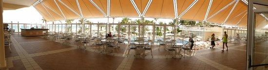ClubHotel Riu Oliva Beach Resort: Lovely covered veranda