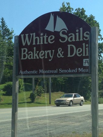 White Sails Bakery & Deli: This is the place to eat