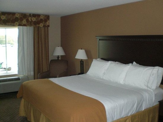 Holiday Inn Express Hotel & Suites Sedalia : King Bed Guest Room 1