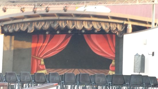 Calane Hotel Village: Il Teatro del villaggio
