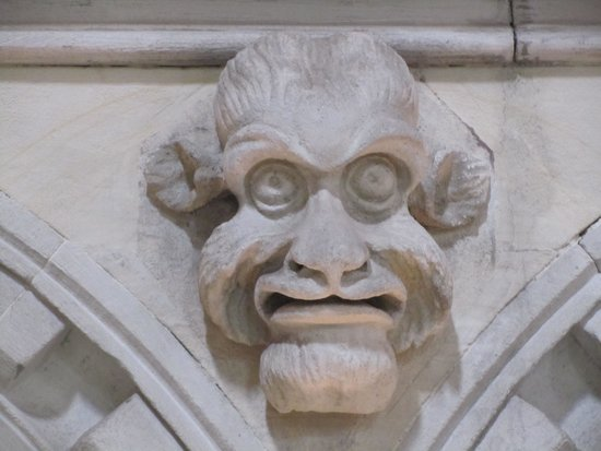 Temple Church: Friendly face