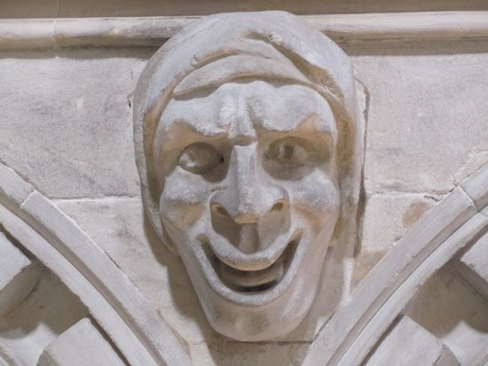 Temple Church: what is there to smile about