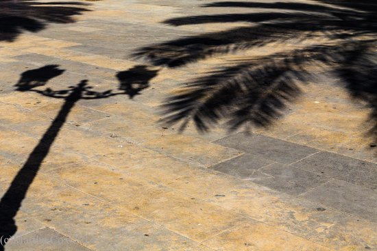 Barcelona Photowalk: Shadows in the square