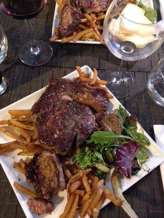 Le Bistrot: L'entrecôte frites
