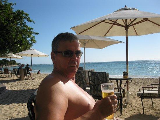 Maritim Resort & Spa Mauritius : Me on the beach