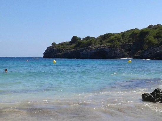 Cala Turqueta : vista spiaggia