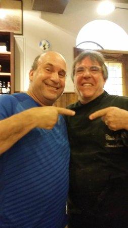 Da Armando al Pantheon: Husband with Chef Claudio