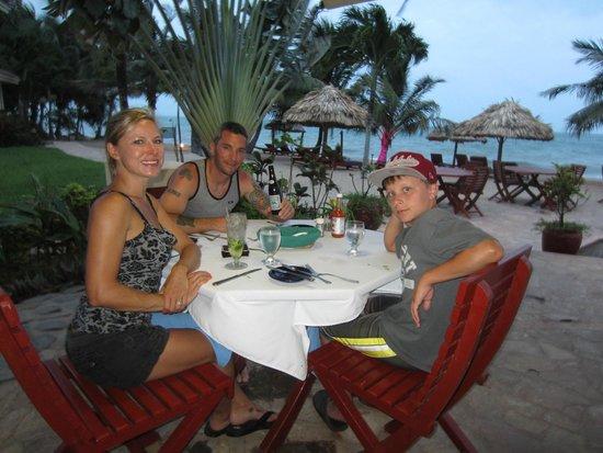 Belizean Dreams Resort : Belizean Dream's restaurant