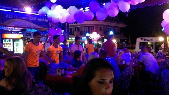 September Restaurant & Bar: The staff