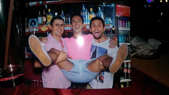 September Restaurant & Bar: James me and happy :D