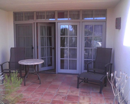 JW Marriott Scottsdale Camelback Inn Resort & Spa : Patio of room 423