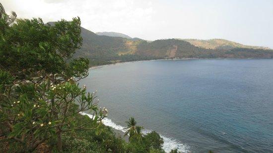 Sunset House Lombok: lookout - 15 min drive north of Sengiggi
