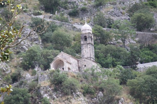 Bay of Kotor: The church on the mountain