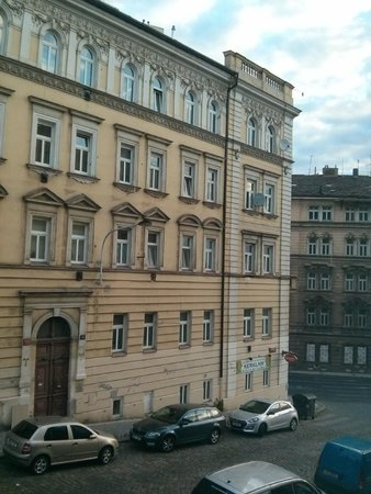 NH Prague City: View from room