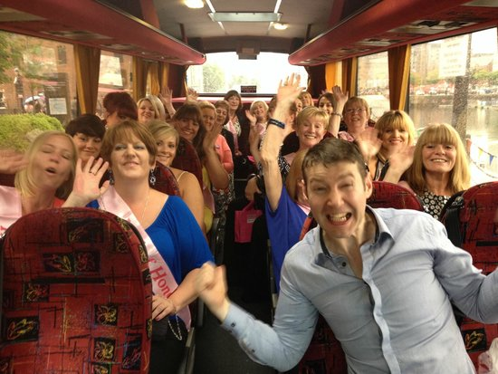 Comedy Coach Tour: Mark and the Hens.