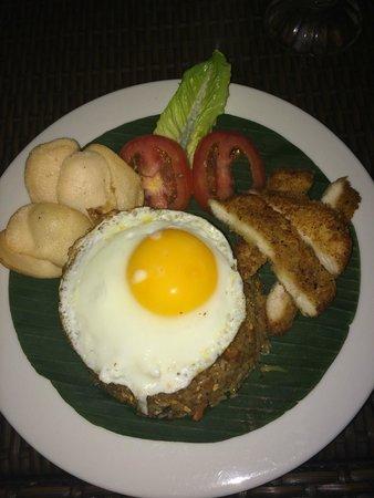 Dewi Sri Hotel: Nasi Goreng
