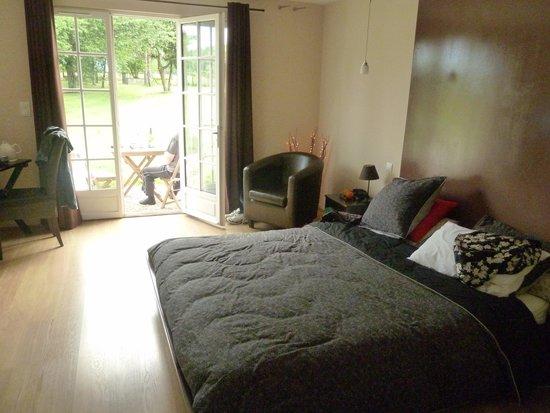 Le Moulin de Vrin: bedroom