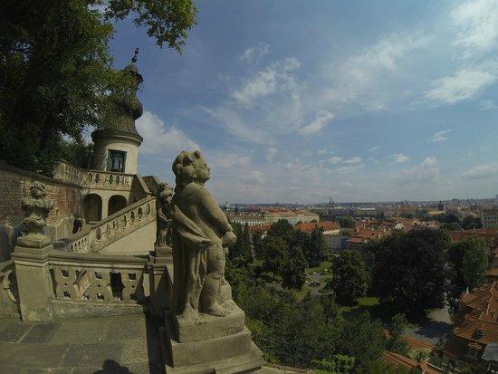 Château de Prague : Aussicht