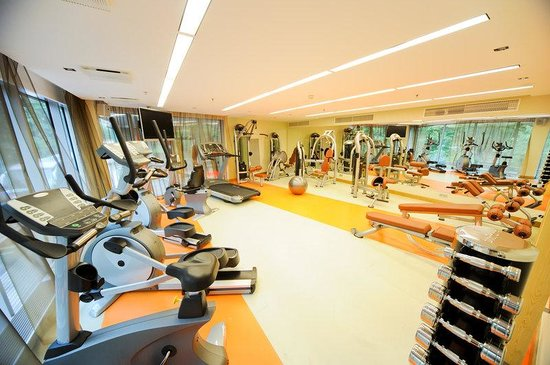 Radisson Blu Elizabete Hotel : Fitness Center