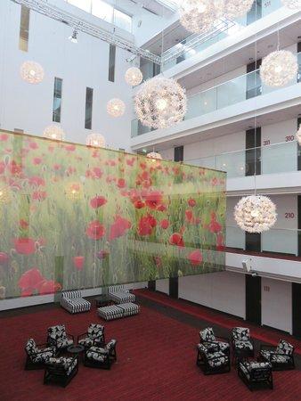 WestCord Hotel Delft: prachtige open ruimte