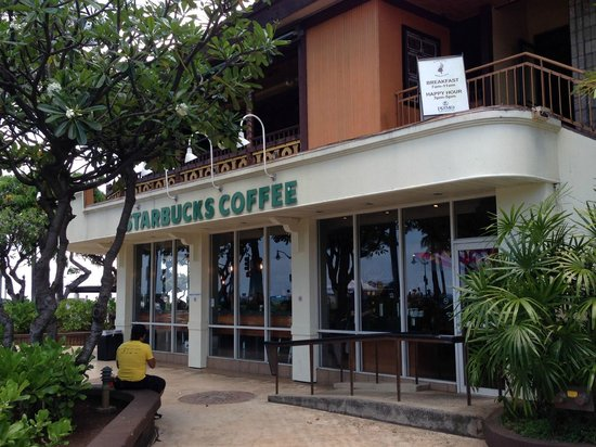 Park Shore Waikiki: Starbucks On Ground Floor